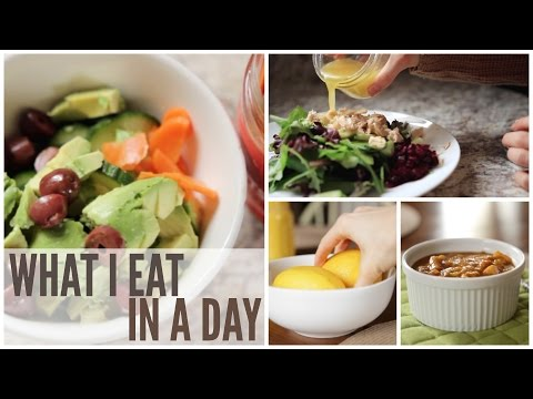 What I Eat in a Day   Paleo Meal & Snack Ideas   February 2017