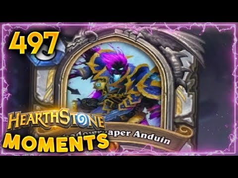 Shadowreaper Anduin Is Pretty Good!! | Hearthstone Daily Moments Ep. 497