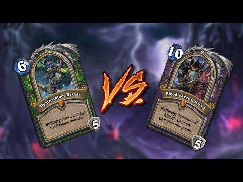 Hearthstone – Deathstalker Rexxar vs Bloodreaver Gul'dan