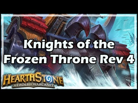 [Hearthstone] Knights of the Frozen Throne Review 4