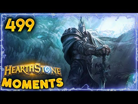 Lich King In Hearthstone!! | Hearthstone Daily Moments Ep. 499
