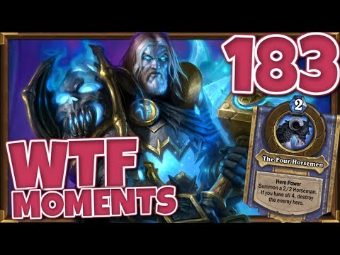 Hearthstone WTF Moments Ep.183
