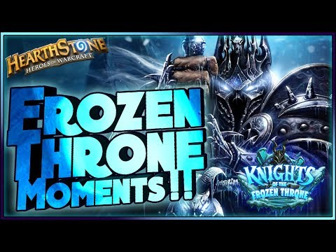 Hearthstone- Frozen Throne Moments – Funny and lucky Rng Moments