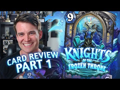 (Hearthstone) Knights of the Frozen Throne: Card Review Part 1 – Druid, Hunter and Mage