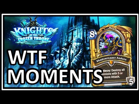 Hearthstone Frozen Throne WTF Moments – Funny and Lucky Moments