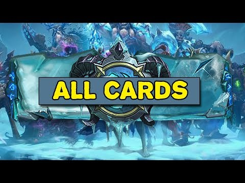 Hearthstone: Knights of the Frozen Throne Card Reveals!