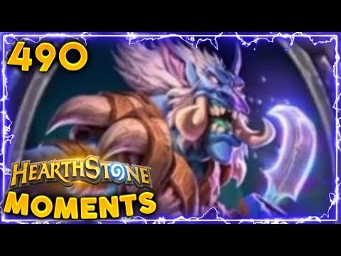 NEW Expansion OP Shaman Card!! | Hearthstone Daily Moments Ep. 490