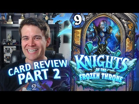 (Hearthstone) Knights of the Frozen Throne: Card Review Part 2 – Paladin, Priest and Rogue