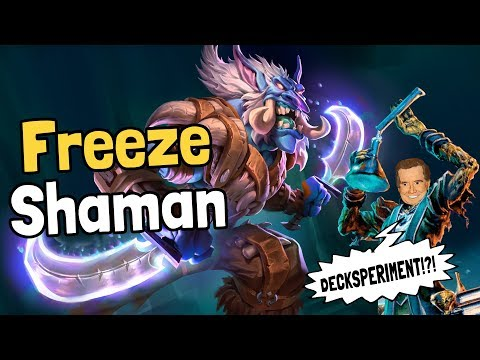 Freeze Shaman Decksperiment – Hearthstone