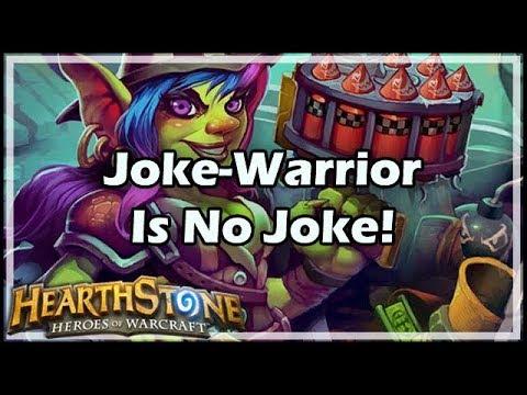 [Hearthstone] Joke-Warrior Is No Joke!