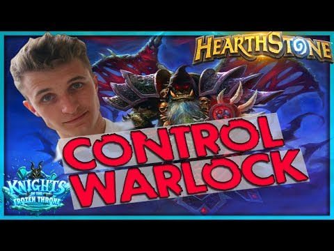 J4ckiechan's Gul'Dan Demon Control Warlock Deck Tech 🌟 HEARTHSTONE  | Frozen Throne Legend