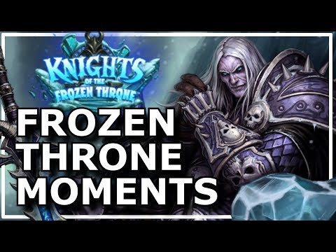 Hearthstone – Best of Frozen Throne First Moments